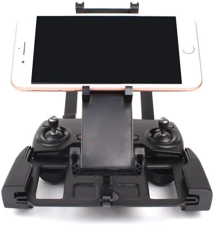 Flycoo - Soporte plegable para iPad de aleación de aluminio, para DJI Mavic Air/DJI Mavic Pro/DJI Mavic Platinum DJI Spark mando a distancia ajustable de 13 cm a 18,5 cm, 5,5 cm, 7,9 y 9,7 cm