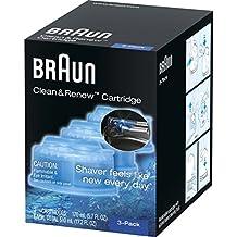 Afeitadora con sistema Braun Syncro, repuestos para limpieza y reemplazo, 3...
