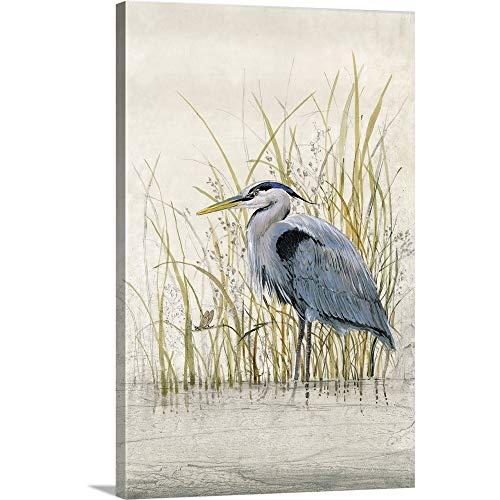 Tim O'Toole Premium Thick-Wrap Canvas Wall Art Print Entitled Heron Sanctuary II 16