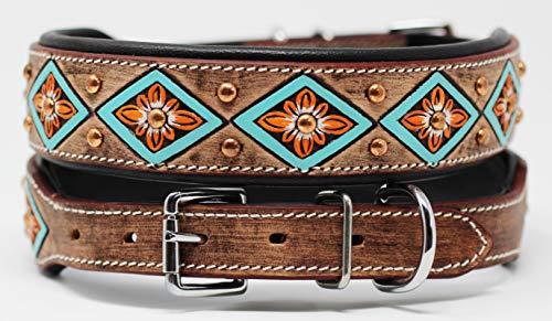 PRORIDER XSmall 9''- 13'' Rhinestone Dog Puppy Collar Crystal Cow Leather 6020
