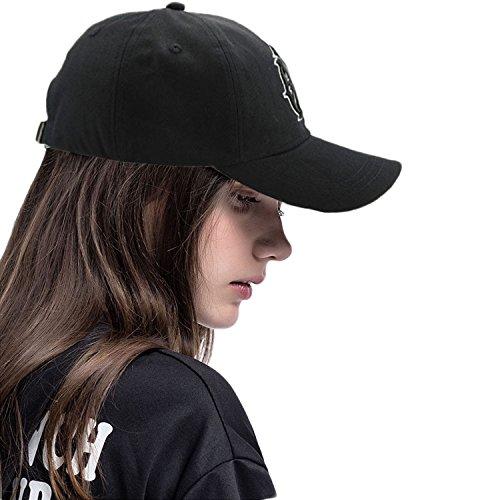 Corettle 野球帽 ゴルフキャップ 登山 釣り テニス 刺繍 帽子 メンズ 星 3Dロゴ シンプル カジュアル 夏用 UVカット 調節可能 アウドドア 旅行 男女兼用 (全5色)