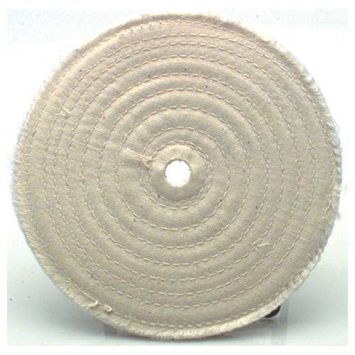 6?×1/2? (20 Ply) - Cotton Sewed Type Buffing Wheel (Pack of 10)
