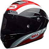 Bell Star Full-Face  Motorcycle Helmet (Classic Black/Red, Large)(Discontinued)