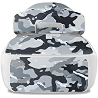 Skin For DJI Goggles – Gray Camouflage | MightySkins Protective, Durable, and Unique Vinyl Decal wrap cover | Easy To Apply, Remove, and Change Styles | Made in the USA