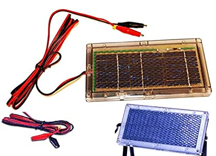 5 95v Solar Panel Outdoor Battery Charger Hunting Trail Camera Deer