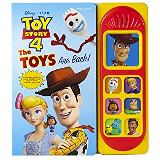 Disney Pixar Toy Story 4 - The Toys are Back! Sound Book - PI Kids (Play-A-Sound)