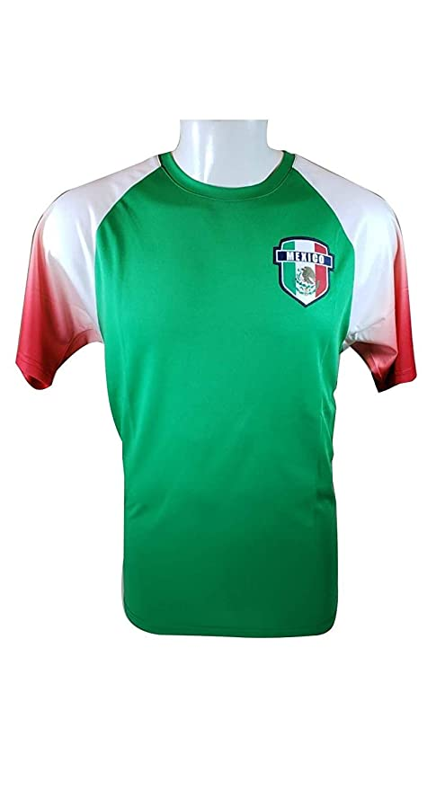 9b0823f284f Mexico Soccer World Cup Adult Soccer Training Performance Jersey -P011 Large