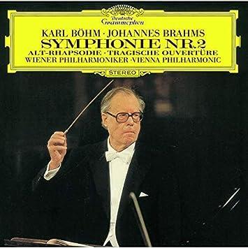 ブラームス:交響曲第2番、アルト・ラプソディ、悲劇的序曲