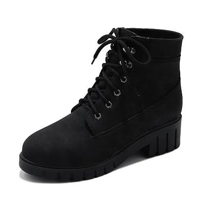 AdeeSu Womens Bandage VelvetLining Boots Nylon Boots SXC02524