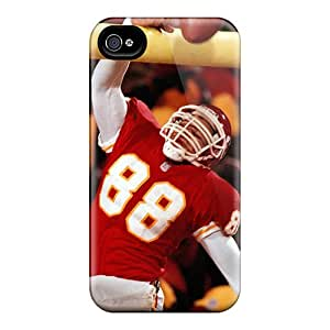 Excellent Hard Phone Cover For Iphone 6plus With Allow Personal Design Colorful Kansas City Chiefs Series KennethKaczmarek