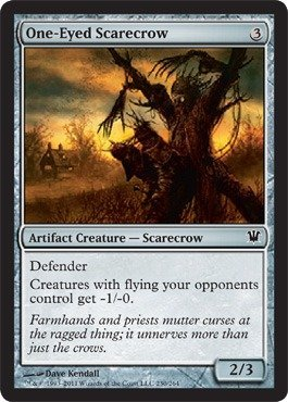 Magic: the Gathering - One-Eyed Scarecrow - Innistrad ()