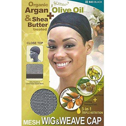 (3 Pack) Qfitt - Premium Wig & Weave Cap #843