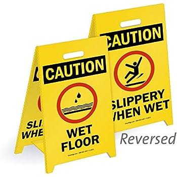 Amazon.com: Caution Wet Floor Sign: Health & Personal Care