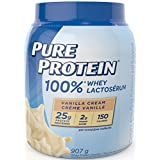 Pure Protein Vanilla 100% Whey Powder 2 lb