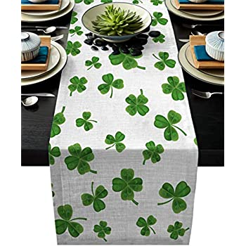 """4 Pack Clover Garland Border Signature Collection 18/"""" x 18/"""" Napkins"""