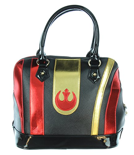 Star Wars Purse (Star Wars Black Squadron Poe Helmet Inspired Dome Satchel)