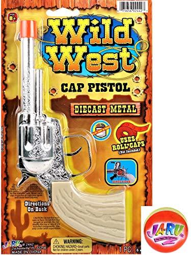 JA-RU Wild West Cap Gun Pistol Diecast Metal Replica. 2442-1slp