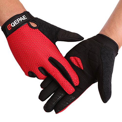 Long Fingers Full Breathable Gloves For Outdoor Riding Motorcycle Fitness And Barbellfor Man and Woman