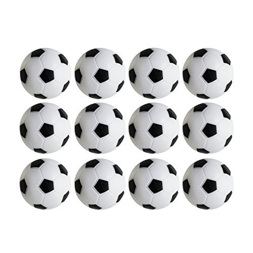Table Soccer Foosballs Replacements Mini Black and White Soccer Balls – DiZiSports Store