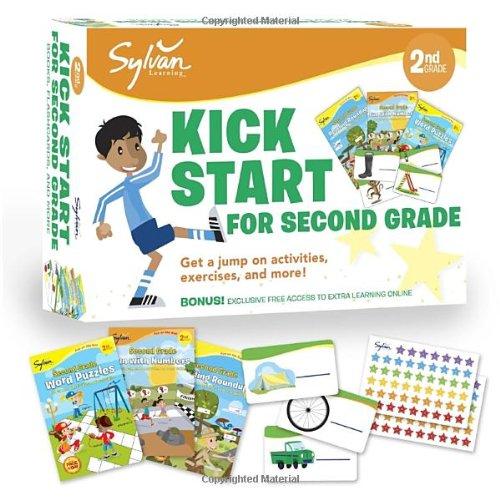 Sylvan Kick Start for Second Grade: Get a Jump on Activities, Exercises, and More! (Sylvan Language Arts Bundles)