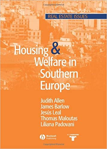 Housing and welfare in southern europe by judith allen james housing and welfare in southern europe by judith allen james barlow jess leal thomas maloutas fandeluxe Image collections