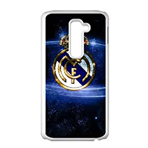 LG G2 Cell Phone Case White Real Madrid CPG Personalized Cell Phone Case Active