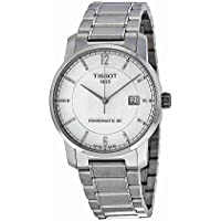 Tissot T-Classic Titanium Automatic Silver Dial Men's Watch