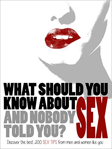 What should guys know about sex