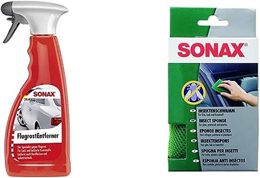 Sonax Flugrostentferner 500 Ml Entfernt Aggressive Flugrost Rückstände Sowie Industriestaub Insektenschwamm 1 Stück Zur Entfernung Von Insekten Und Anderen Hart Anhaftenden Verschmutzungen Auto