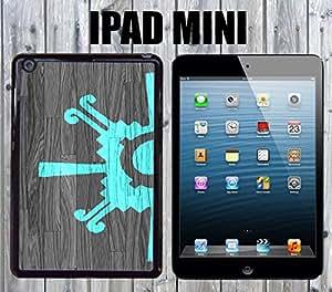 Aztec Geometric Teal Custom made Case/Cover/skin FOR iPad Mini-Black- Plastic Snap On Case