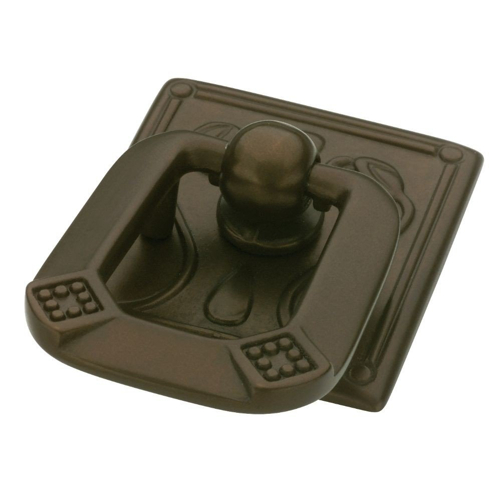 Liberty Hardware P10113-RB-C 1.25 Inch Ring Pull from the Vintage Collection, Rubbed Bronze Finish