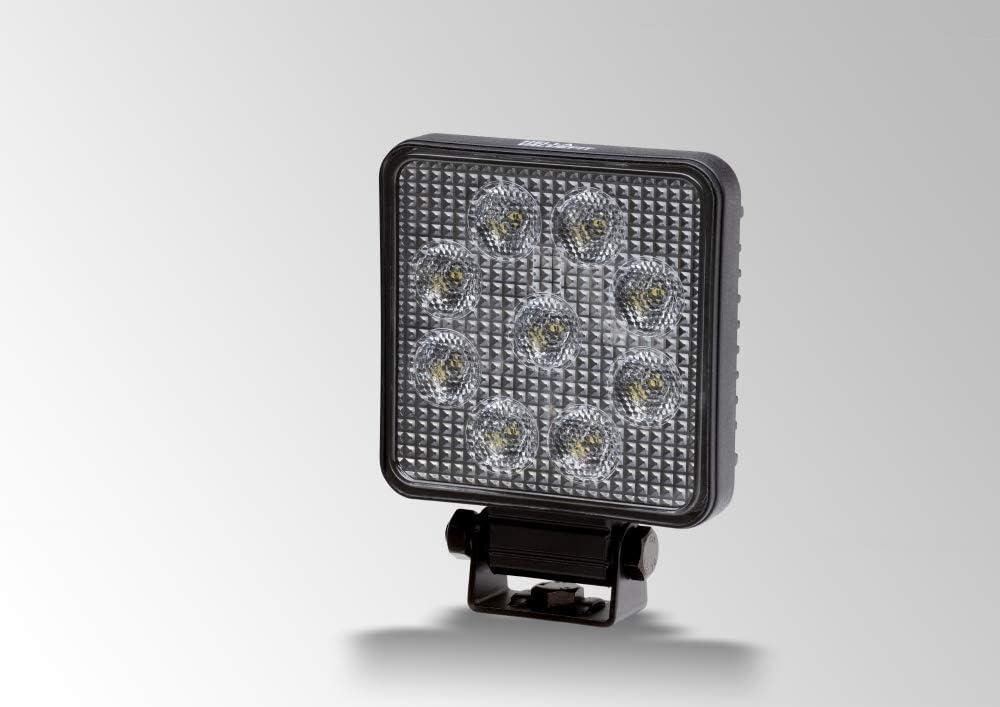 800mm 12V//24V Stecker: offene Kabelende 1700lm LED Valuefit TR1700 HELLA 1G0 357 111-002 Arbeitsscheinwerfer Nahfeldausleuchtung geschraubt