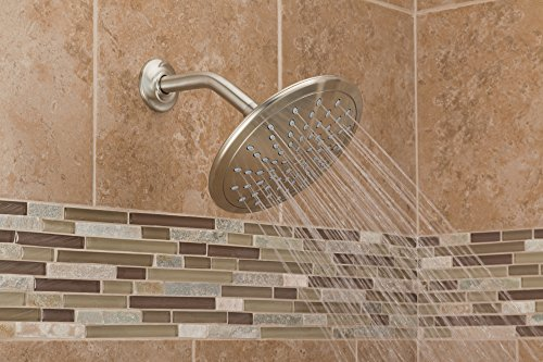 "Moen 6345BN 8"" Fixed Rainshower Showerhead, Brushed Nickel"