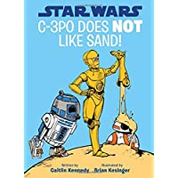 C-3po Does Not Like Sand!