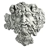 Design Toscano Bacchus, God of Wine Greenman Wall Sculpture