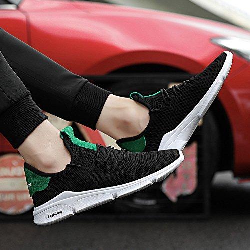 de Exterior Casual Calzado Sneakers de Zapatillas BBestseller Deportivo de Deportivas Mujer Zapatillas Mujer Yoga Mujer Running Verde Zapatos pqn16PZ