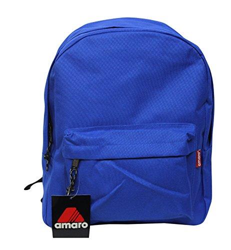 - Amaro 21000 Basic School Backpack Blue