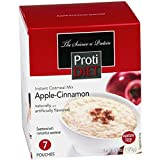 ProtiDIET Instant Oatmeal Mix (7 Pouches), Simply Add Water, No Sugar Meal Replacement, No Trans Fat, 15G Protein, 90 Calories (Apple Cinnamon, 6.2 OZ)