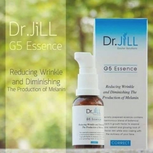 DR.JILL G5 ESSENCE ANTI-WRINKLE/AGING RADIANT GLOWING AURA FACE SKIN+TRACKING