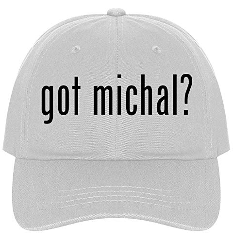 The Town Butler got Michal? - A Nice Comfortable Adjustable Dad Hat Cap, White