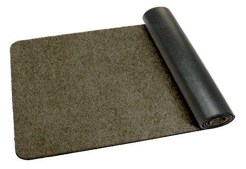 Deko-Matten-Shop Fußmatte Classic, Schmutzfangmatte, Länglich, 40x140 cm, Grau, in 14 Größen und 11 Farben B079M9546J Fumatten