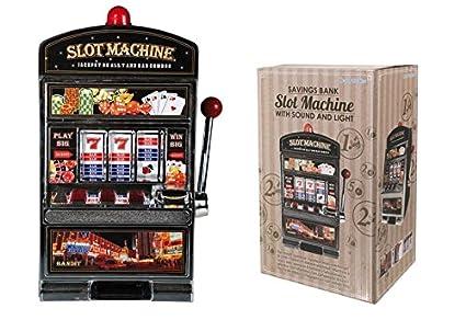 Spardose - Spielautomat mit persönlicher Gravur
