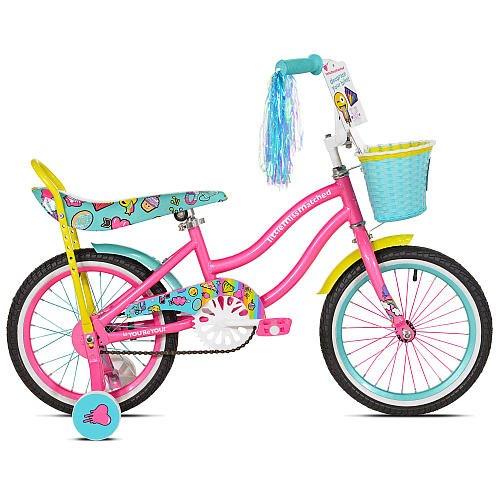 Amazoncom Girls 16 Inch Avigo Littlemissmatched Bike Sports