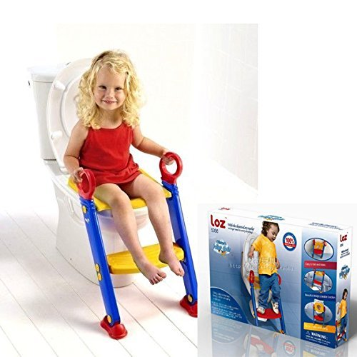 Keraiz - Asiento de inodoro para bebé, Multicolor Stella Traders STL-230TOILETLADDERSHEET