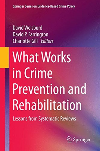 Drug Prevention - What Works in Crime Prevention and Rehabilitation: Lessons from Systematic Reviews (Springer Series on Evidence-Based Crime Policy)