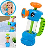 Kid Doll Gift/Kid Toys,Y56 Child Baby Kids Bath Shower Swimming Pool Water Toys Duck Design Water Pump Toy