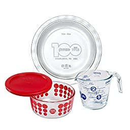 Pyrex 100 100th Anniversary 4 Piece Centennial Collector Set