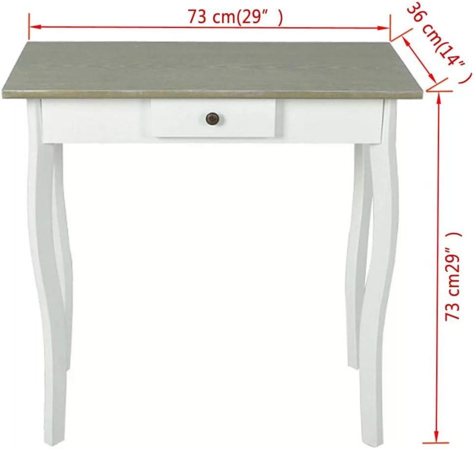 SOULONG Mueble Recibidor Consola Moderna Mesa De Entrada De Madera ...
