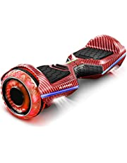 """Bluewheel HX360   6,5"""" premium hoverboard   Duits kwaliteitsmerk   Infinity LED-banden & app   Kinderveiligheidsmodus   Bluetooth luidspreker   Self Balance scooter met krachtige dual motor…"""