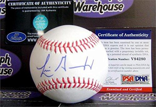 Baseball Luis Gonzalez (Autograph 118947 Psa No. V84280 Luis Gonzalez Autographed Baseball)
